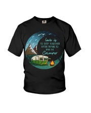 Love is to stay together Youth T-Shirt thumbnail