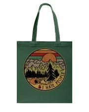 I hate people camping hiking Tote Bag thumbnail