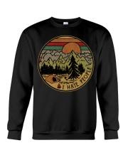 I hate people camping hiking Crewneck Sweatshirt thumbnail