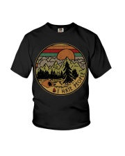 I hate people camping hiking Youth T-Shirt thumbnail