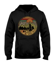 I hate people camping hiking Hooded Sweatshirt thumbnail
