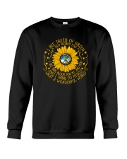 What a wonderfull world Crewneck Sweatshirt thumbnail