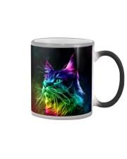 Beautiful Cat Fractal Color Changing Mug thumbnail