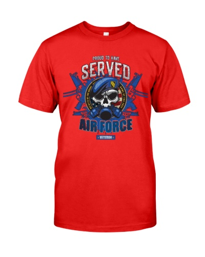 Us Air Force Military Veteran Proud To Have Served