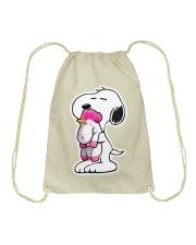 Dog - Unicorn Drawstring Bag thumbnail