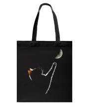 Cat Chasing The Moon Tote Bag thumbnail