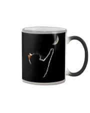 Cat Chasing The Moon Color Changing Mug thumbnail
