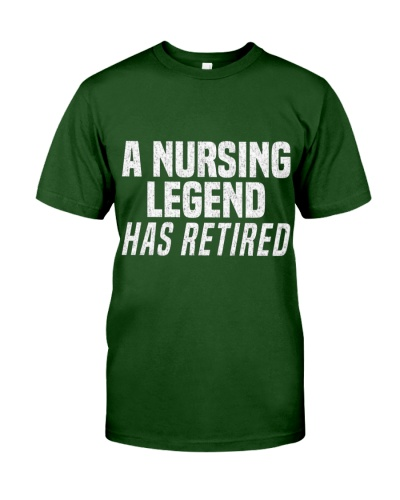 A Nursing Legend Has Retired Funny Nurse Retiremen