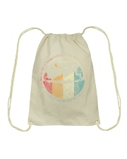 For if everything exists to lift Drawstring Bag thumbnail