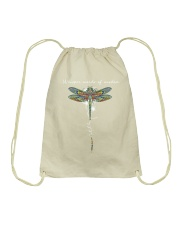 Whisper words of wisdom - Let it be Drawstring Bag thumbnail