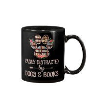 Easily Distracted By Dogs And Books Mug thumbnail