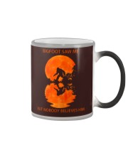 Bigfoot saw me Color Changing Mug thumbnail
