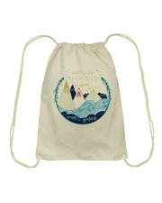 You cant scare me Im a crazy person Drawstring Bag thumbnail