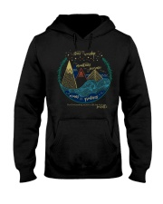 You cant scare me Im a crazy person Hooded Sweatshirt thumbnail