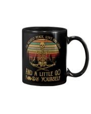 I am mostly peace love and light Mug thumbnail