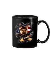 German Shepherd Flag America Mug thumbnail