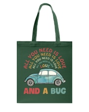 All you need is love and a bug Tote Bag thumbnail