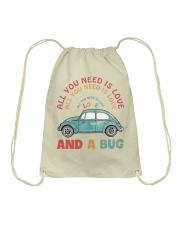 All you need is love and a bug Drawstring Bag thumbnail