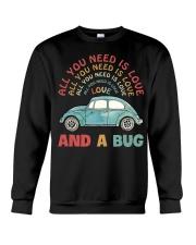 All you need is love and a bug Crewneck Sweatshirt thumbnail