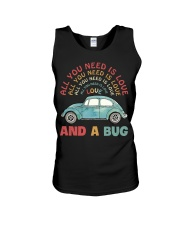All you need is love and a bug Unisex Tank thumbnail