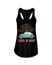 All you need is love and a bug Ladies Flowy Tank thumbnail