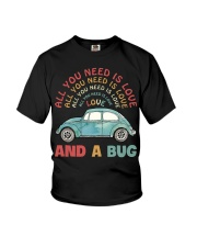 All you need is love and a bug Youth T-Shirt thumbnail