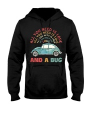 All you need is love and a bug Hooded Sweatshirt thumbnail