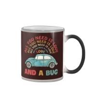 All you need is love and a bug Color Changing Mug thumbnail