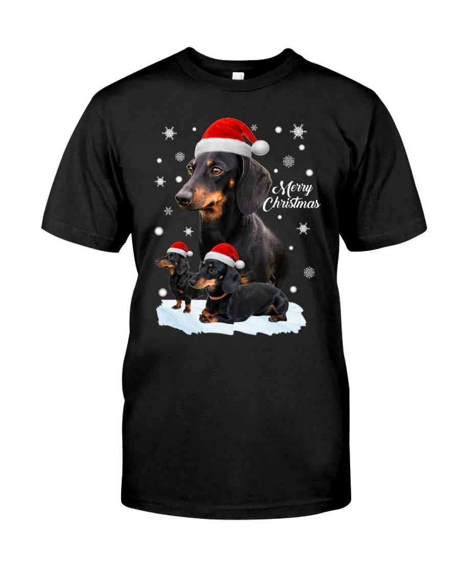 Dachshund Christmas Classic T-Shirt