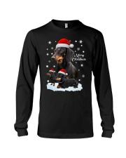 Dachshund Christmas Long Sleeve Tee thumbnail