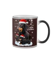 Dachshund Christmas Color Changing Mug thumbnail