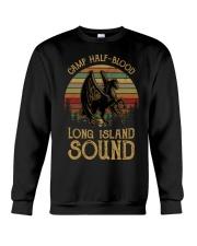 OFFICIAL Horse camp half blood long island sound Crewneck Sweatshirt thumbnail