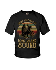 OFFICIAL Horse camp half blood long island sound Youth T-Shirt thumbnail