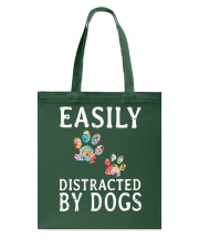Easily - Dogs - Distracted Tote Bag thumbnail