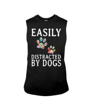Easily - Dogs - Distracted Sleeveless Tee thumbnail