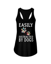 Easily - Dogs - Distracted Ladies Flowy Tank thumbnail