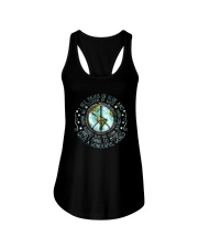 I see skies of blue and Ladies Flowy Tank thumbnail