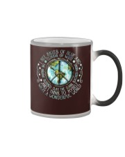 I see skies of blue and Color Changing Mug tile