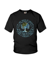 I see tree of green Youth T-Shirt tile