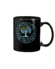 I see tree of green Mug tile