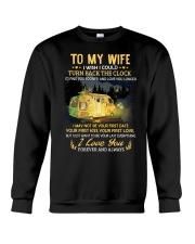 To My Wife - I Love You Crewneck Sweatshirt thumbnail