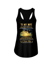 To My Wife - I Love You Ladies Flowy Tank thumbnail