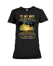 To My Wife - I Love You Premium Fit Ladies Tee thumbnail
