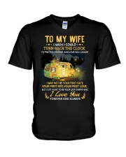 To My Wife - I Love You V-Neck T-Shirt thumbnail