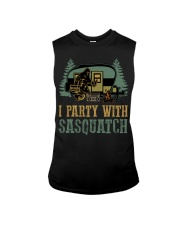 I party with sasquatch Sleeveless Tee thumbnail