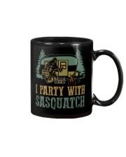 I party with sasquatch Mug thumbnail