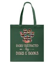 Dog - Books - Easily Tote Bag thumbnail