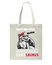Don't mess with auntasaurus Tote Bag thumbnail