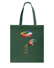 Let It Be Flowers Tote Bag thumbnail