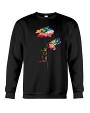 Let It Be Flowers Crewneck Sweatshirt thumbnail